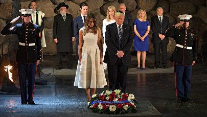 Amerikāņu līderis pagodināja Otrā pasaules kara upuru piemiņu Jeruzālemes kompleksā Jad Vašem