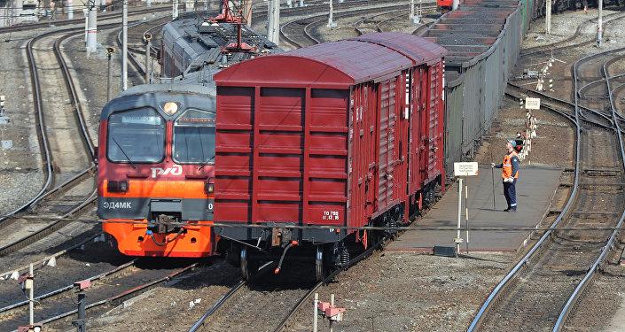 Dzelzceļa ritošais sastāvs. Foto no arhīva
