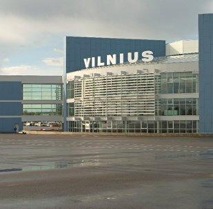Аэропорт в Вильнюсе