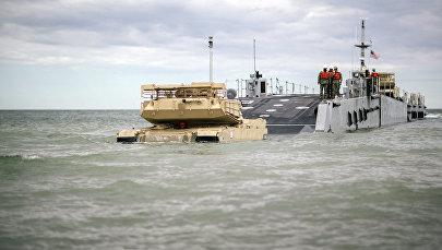 Militārajām mācībām Saber Strike 2017 Latvijā ierodas amerikāņu kājnieki un militārā tehnika