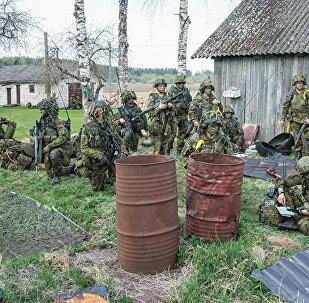Учения Весенний шторм в Эстонии