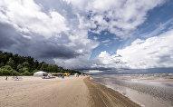 Пляж в Юрмале, архивное фото