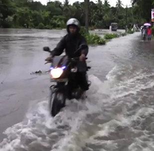 Наводнение в Шри-Ланке
