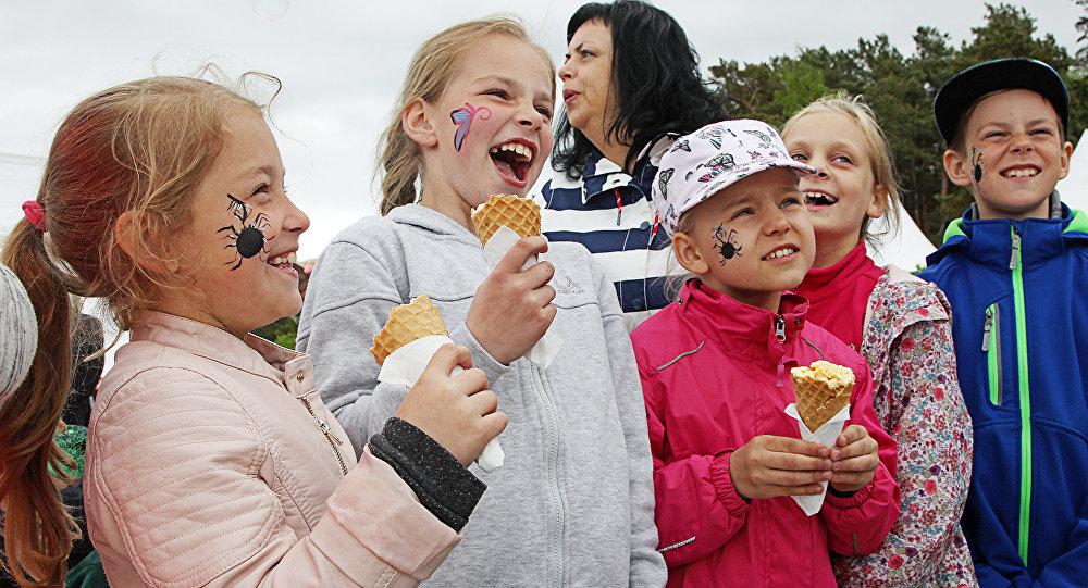 Saldējuma festivāls Jūrmalā