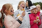 Фестиваль мороженого в Юрмале