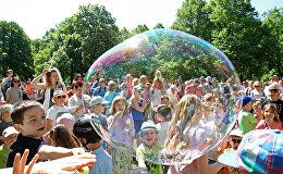 Парад мыльных пузырей 2017