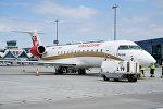 Bombardier CRJ200 авиакомпании RusLine в аэропорту Рига