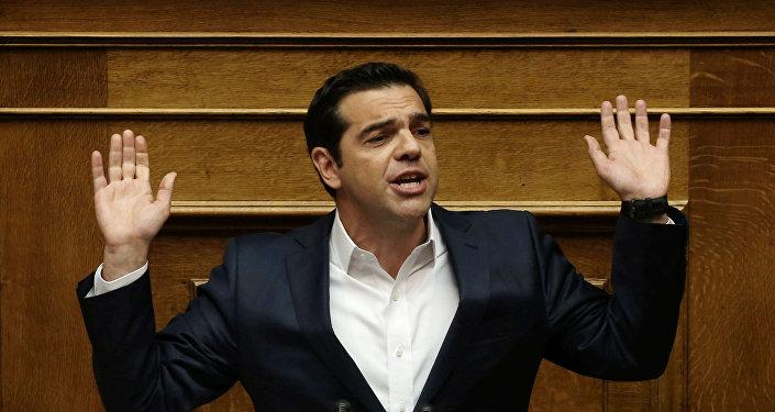 Grieķijas premjers Alekss Ciprs