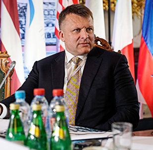Айнарс Шлессерс на Балтийском форуме