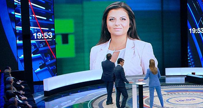 Simoņana komentēja Makrona vārdus par Sputnik un RT