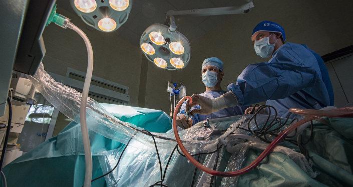 Operācija slimnīcā. Foto no arhīva.