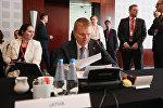 Эдгарс Ринкевичс на пленарном заседании по безопасности и Восточной политике в Сопоте