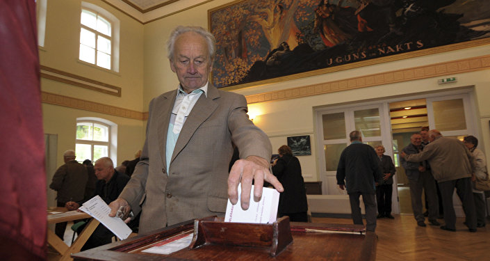 Выборы в Латвии, архивное фото