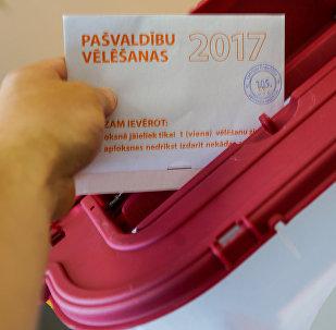 Муниципальные выборы в Риге 2017