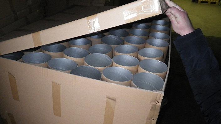 Подпольный завод по производству и расфасовки растворимого кофе известных марок Nestle и Nescafe