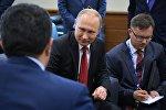 Президент РФ Владимир Путин на XXI Петербургском международном экономическом форуме