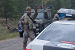 Машины военной полиции Латвии