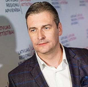 Мартиньшс Бондарс, лидер списка Латвийское объединение регионов/«Для развития Латвии»