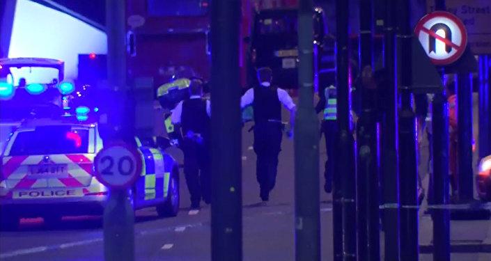 Panika un šausmas: nakts terorakts Londonā
