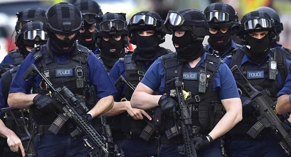 Шесть полицейских пострадали впроцессе ночных столкновений встолице Англии