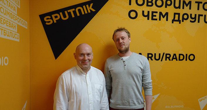 Актер Виктор Сухоруков на радио Sputnik