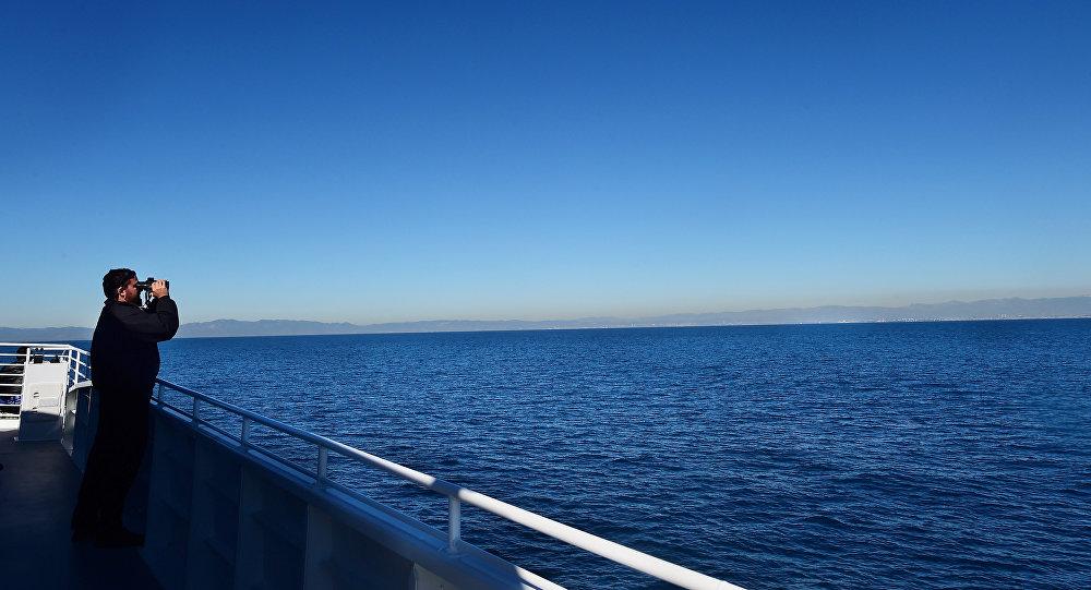 Наблюдатель на корабле