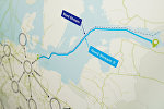 Схема газопровода Nord Stream 2 и распределение газа по Европе