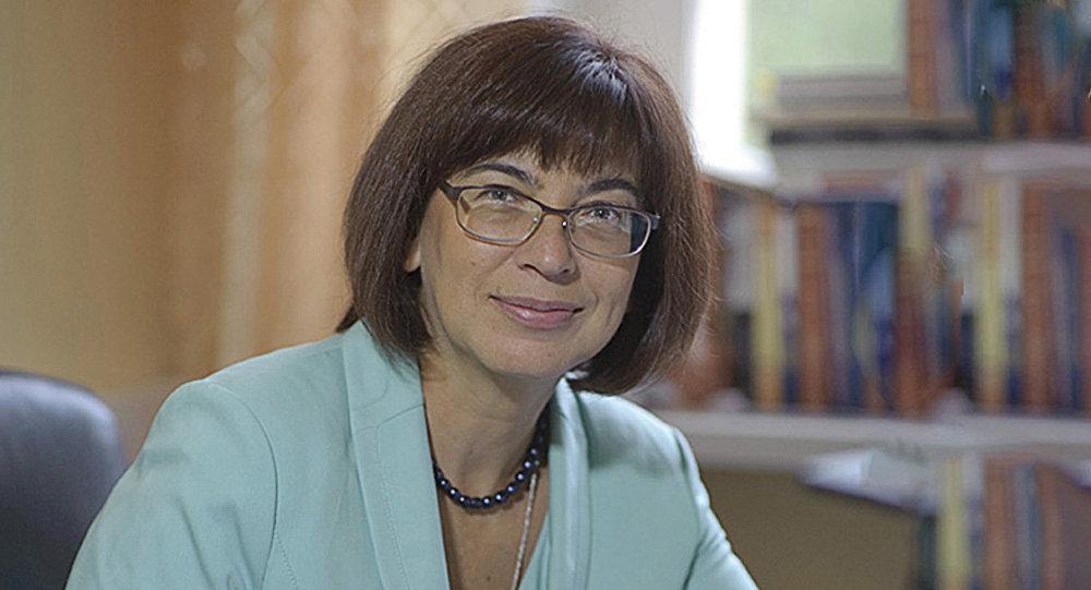 Доктор исторических наук Оксана Петровская