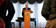 Посол РФ в Латвии Евгений Лукьянов, архивное фото