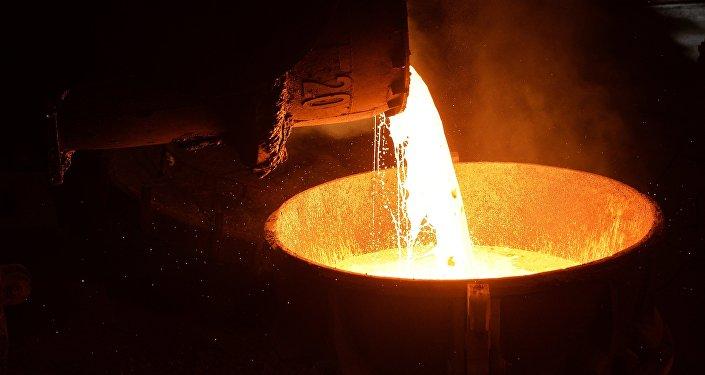 Metalurģijas kombināts. Foto no arhīva