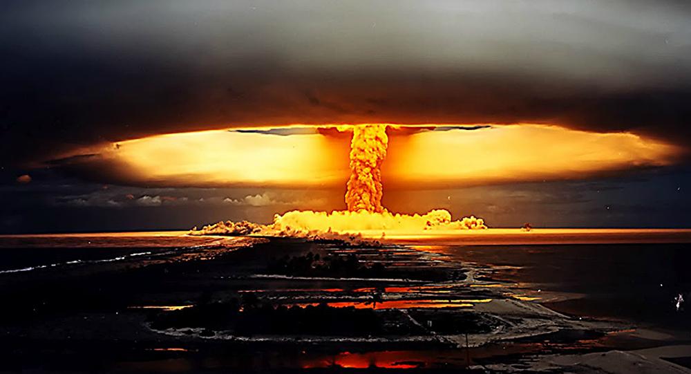 Kodolsprādziens. Foto no arhīva