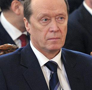 Krievijas vēstnieks Aleksandrs Vešņakovs.Foto no arhīva