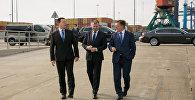 Премьер-министры Эстонии, Литвы и Латвии на встрече по вопросу Балтийского строительства СПГ-терминала
