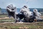 Военные учения Saber Strike 2017