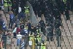 Драка после матча отборочного турнира к чемпионату мира 2018 года между сборными Боснии и Герцеговины и Греции по футболу