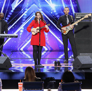 Dziedātāja Mendija Hārvija šovā America's Got Talent