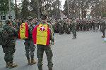 Испанские военные прибыли в Латвию