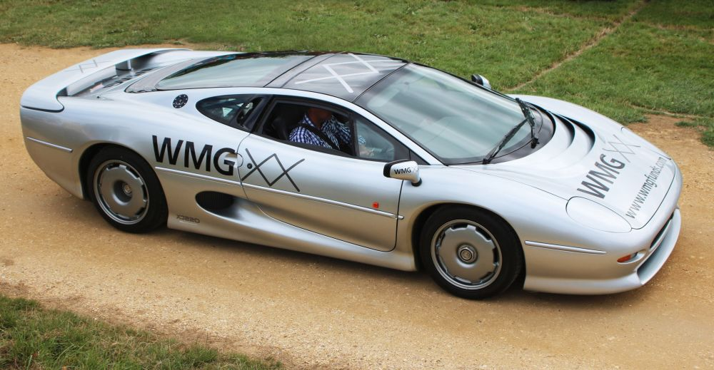 Automašīna Jaguar XJ220 TWR