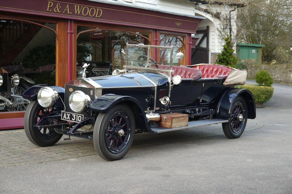 Automašīna Rolls-Royce Silver Ghost