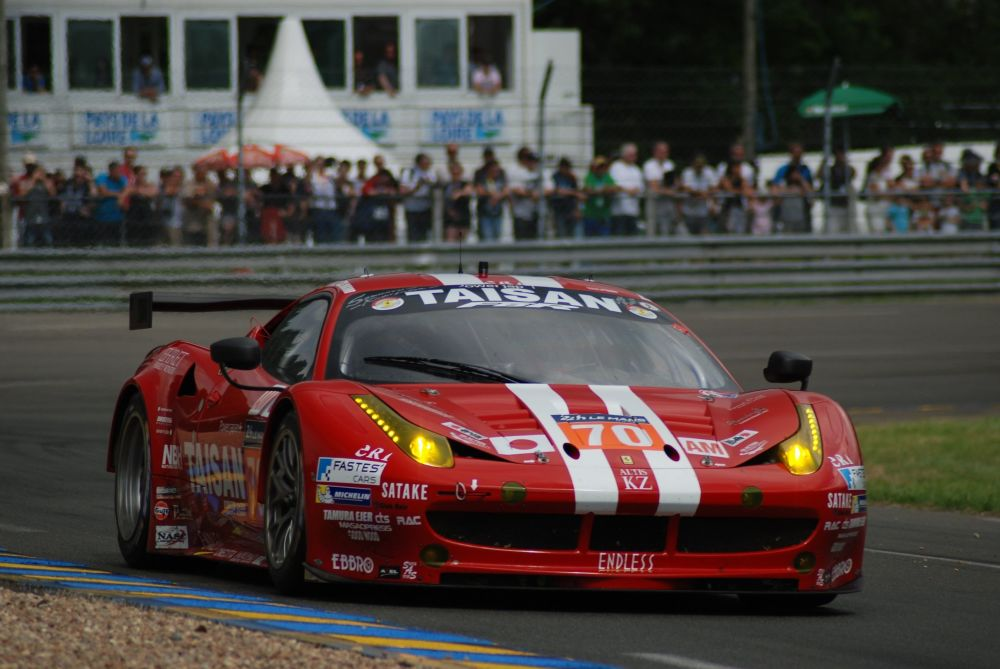 Automašīna Ferrari 458 GTE 2