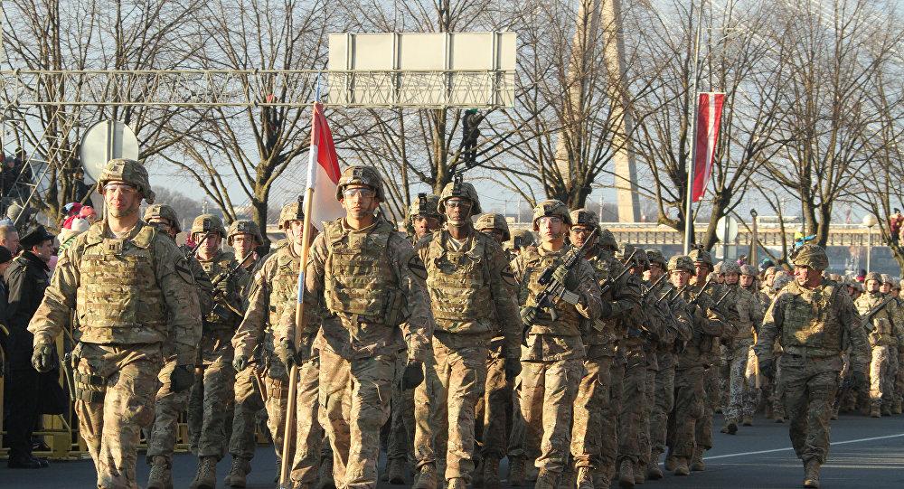 Канадские военные в Латвии