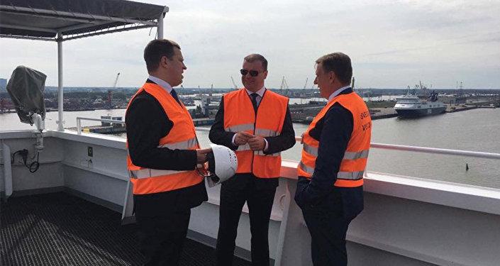 Igaunijas, Lietuvas un Latvijas premjerministri apspriedē par SDG termināļa celtniecību Baltijā