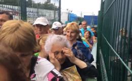 Давка на КПП Шегини на границе Украины с Польшей