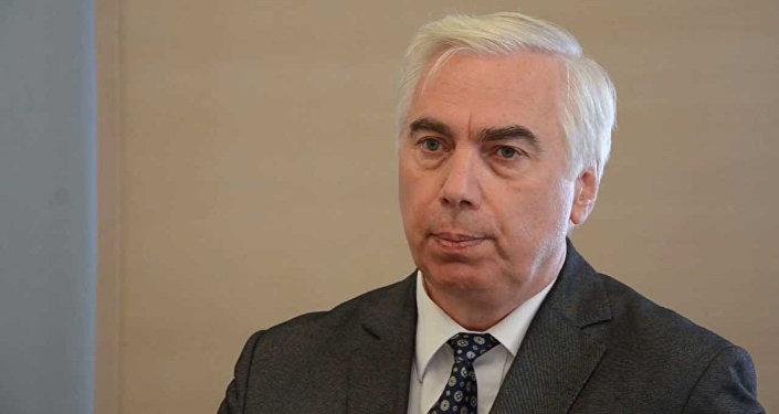 Координатор Совета общественных организаций Латвии Виктор Гущин