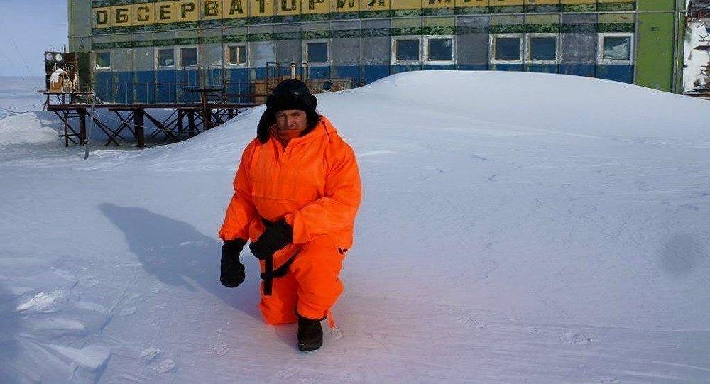 Герман Москвитин в Антарктиде