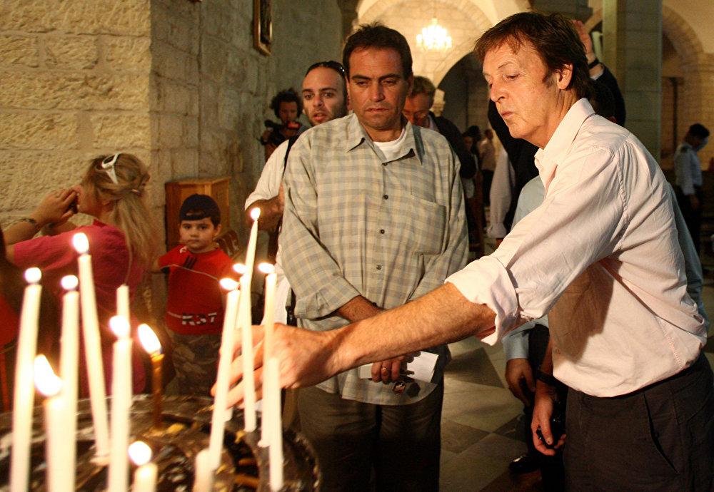 Пол Маккартни в Израиле