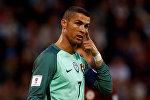 Игрок национальной сборной Португалии по футболу Криштиану Роналду