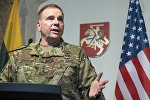 Генерал США Бен Ходжес с визитом в Литве, архивное фото