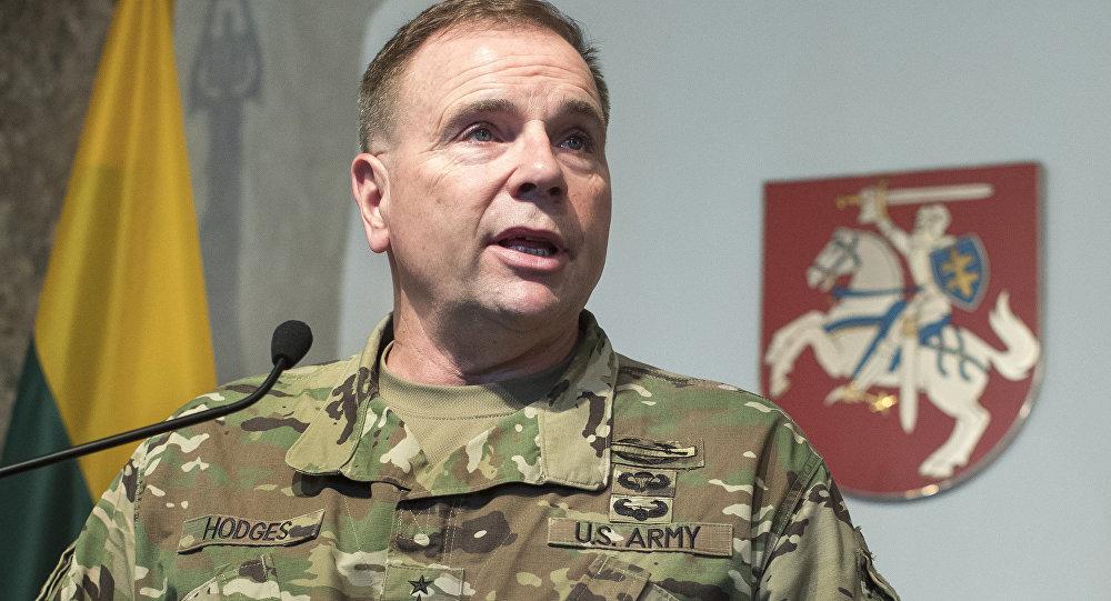 ASV Sauszemes spēku komandieris Bens Hodžes. Foto no arhīva