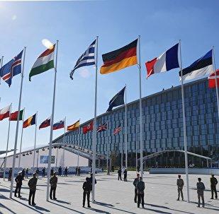 NATO dalībvalstu karogi